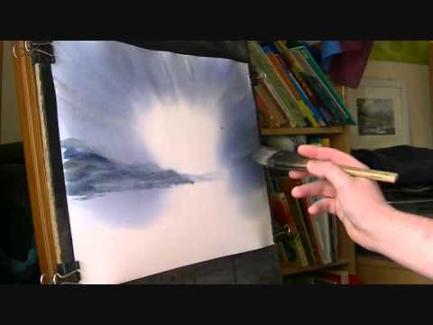 Steven Cronin: Watercolor Lesson Part 1