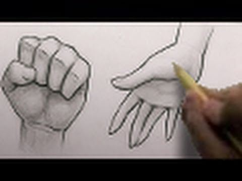 Mark Crilley: Drawing Hands In Two Different Ways