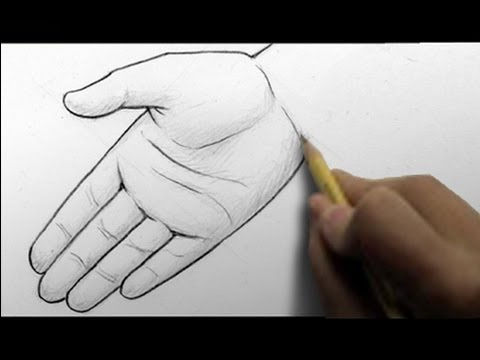 Mark Crilley: Drawing Two Different Hands, Open Palm And Writing Style