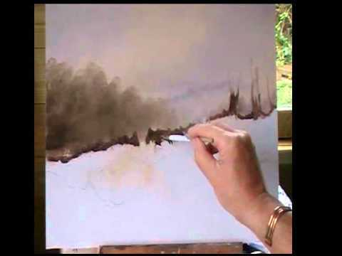 Alan Kingwell: Oil Painting Demonstration – Painting Snow