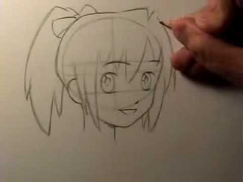 Mark Crilley: How To Draw A Manga Head Shape And Facial Features