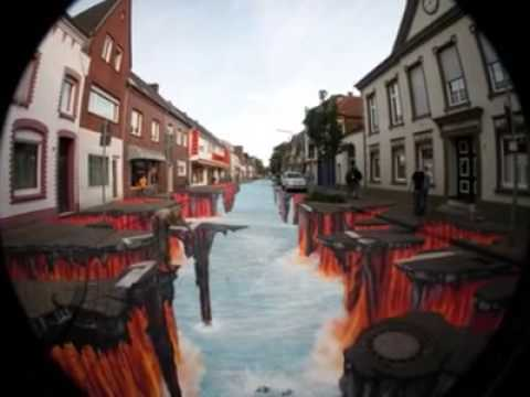 The 3D Chalk Man – Montage