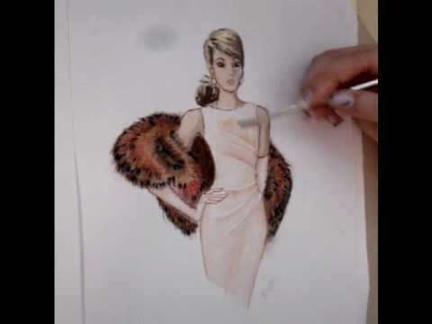 Fashion Design Sketches Tutorial A Fashion Sketch Watch