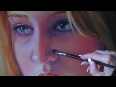 How To Paint Oil Portraits Youtube