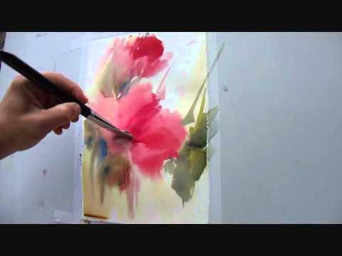 F 225 Bio Cembranelli Watercolor Painting Demonstration