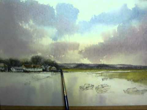John Baxter: How To Paint A Seascape In Watercolors