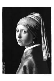 James Mylne – Recreates Girl with a Pearl Earring (Ballpoint Pen)