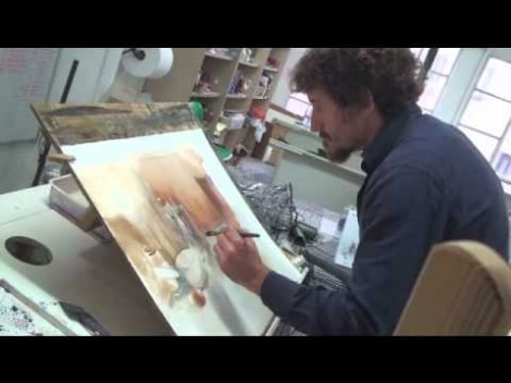 Camilo Huescar: Watercolor Demonstration