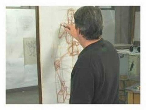 Gary Geraths: Art Lesson Drawing The Female Form (Structural Drawing)