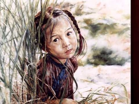 "Collection Of Oil Paintings By ""Wai Ming"""