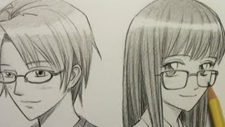 Mark Crilley: How To Draw Glasses On A Manga Character