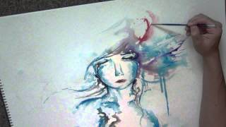 A Speed Painting Titled 'Dream It In Color'