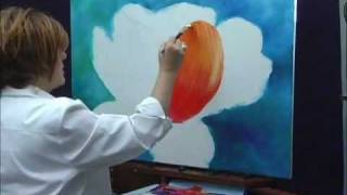 How To Paint Flowers With Acrylics – Parrot Tulip
