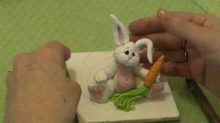 How To Make A Bunny Figurine Using Polymer Clay