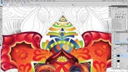 Psychedelic Digital Art in Photoshop & Illustrator CS4