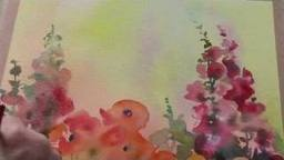 Trevor Waugh: Watercolour Magical Flower Garden