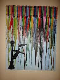 "Crayon Art – ""Singin In The Rain"""