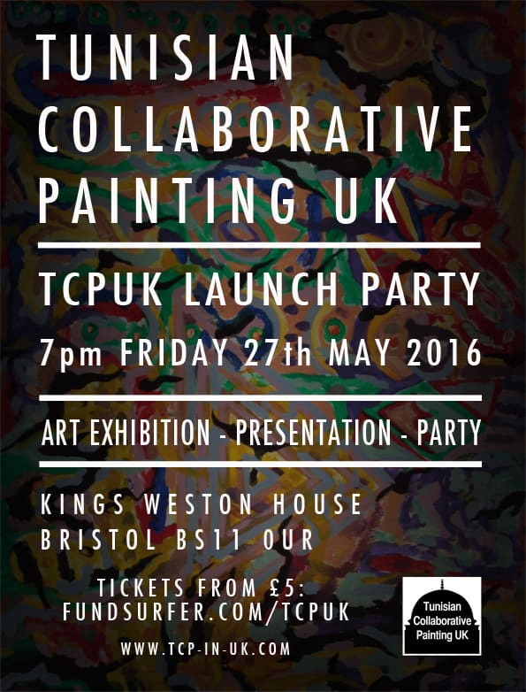 TCPUK – Tunisian Collaborative Painting in the UK Launch Event – Bristol Friday May 27th 2016