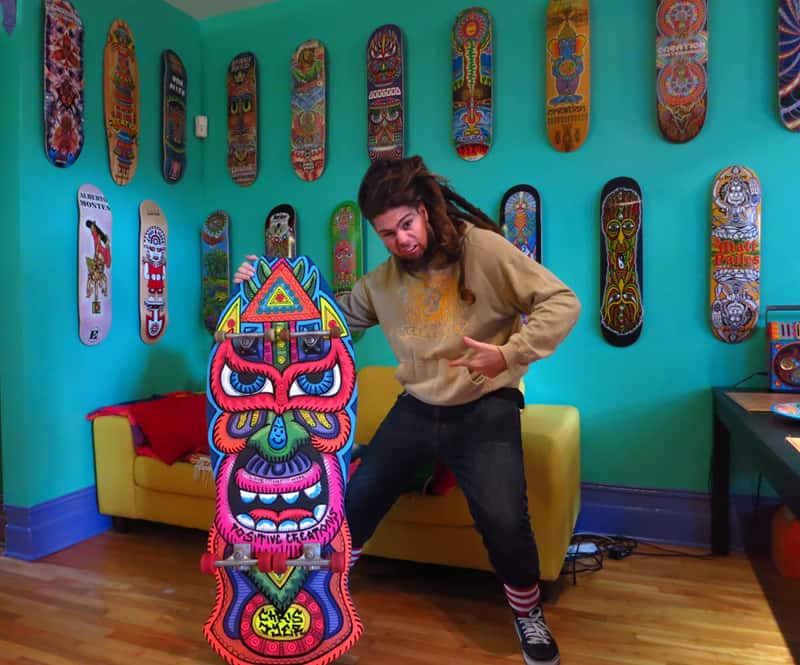 Positive Creations – Visionary Skate Artist Chris Dyer